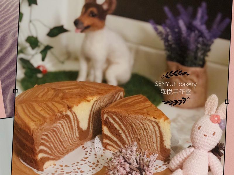 斑馬🦓紋戚風蛋糕