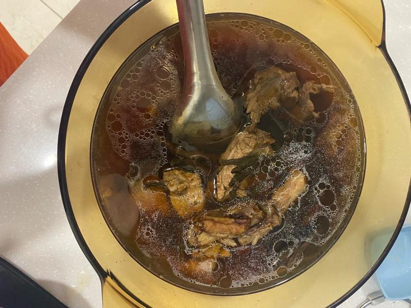 客家排骨豆乾湯(菜豆乾)