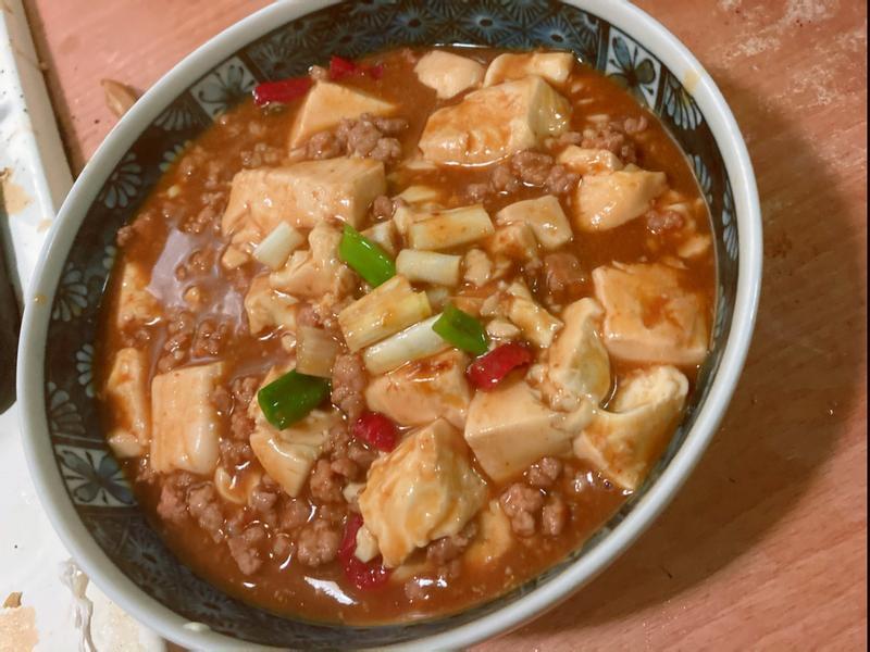 小磨坊麻婆豆腐 (簡易版)