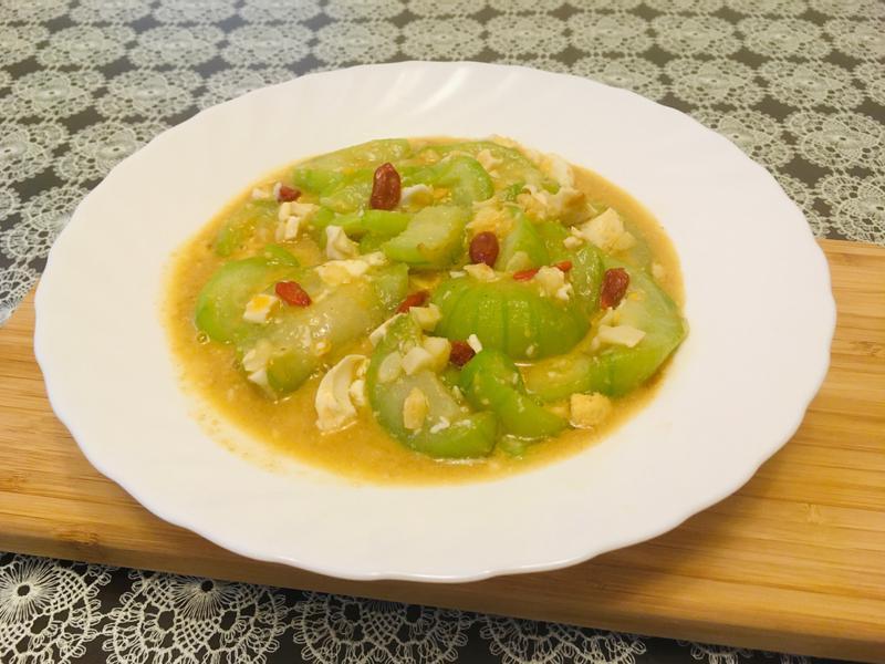 金沙絲瓜(鹹蛋炒絲瓜)