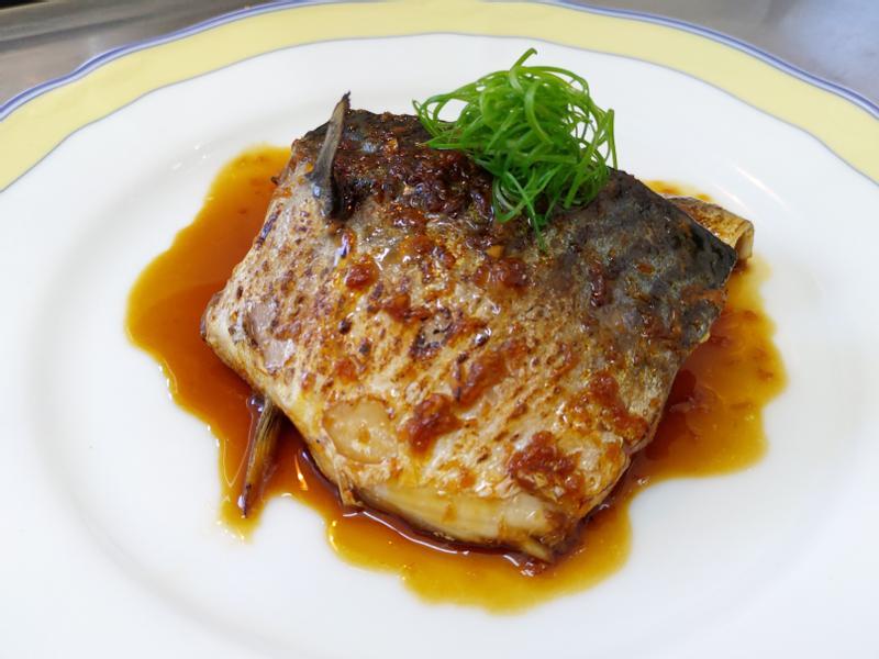 和風薑汁鯖魚