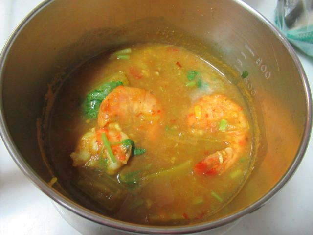 蝦子咖哩湯