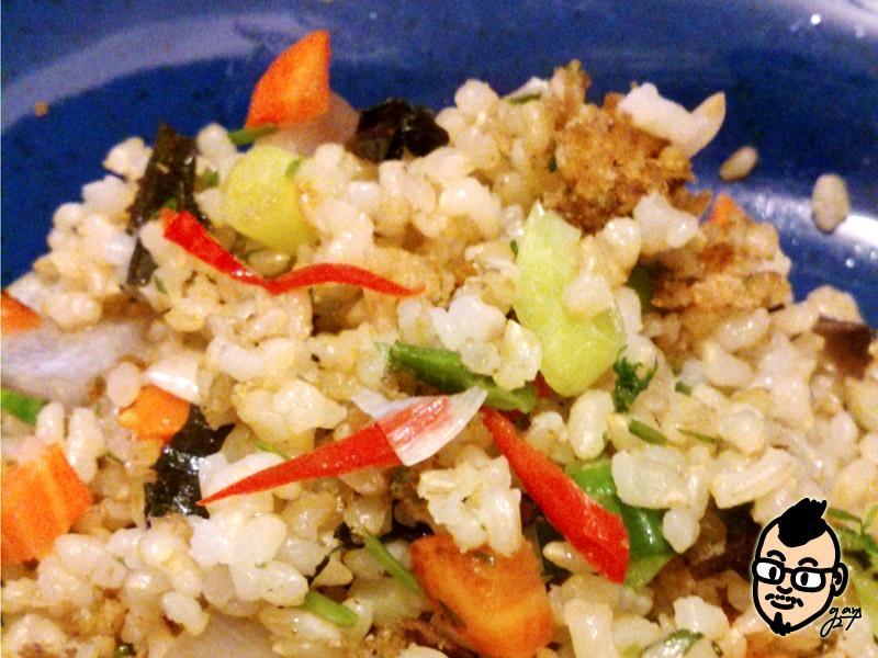 【激禿先生宅料理】紫蘇拌糙米飯