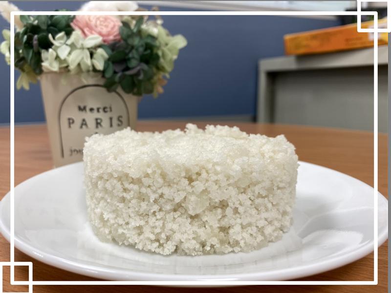 【低蛋白點心】越之白米鬆糕