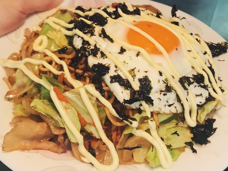 Yaki-soba日式炒麵