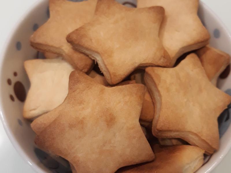 星星牛奶餅乾