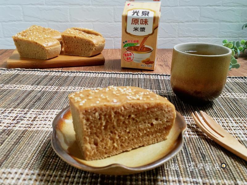 黑糖米漿蒸糕