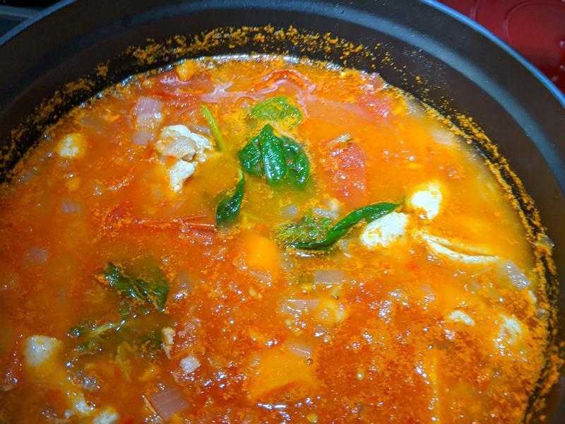 【讓蕃茄消失的方法】摩洛哥蕃茄燉雞湯