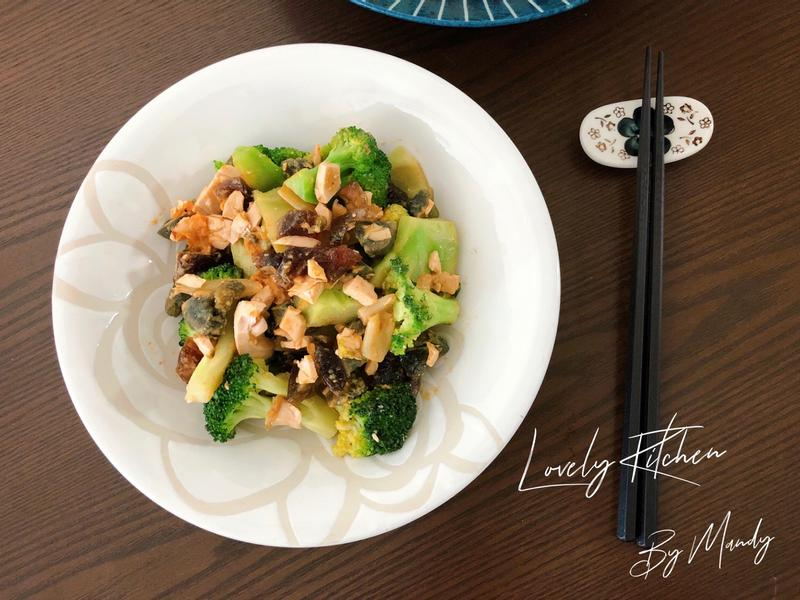 金銀蛋花椰菜【盛(剩)食料理】