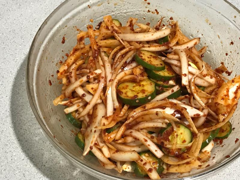 韓式涼拌洋蔥小黃瓜