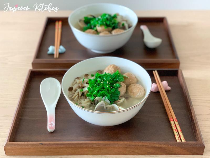 台式料理🍜白胡椒海鮮貢丸湯麵