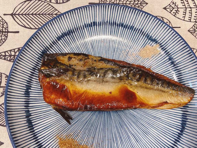 日式味噌烤鯖魚