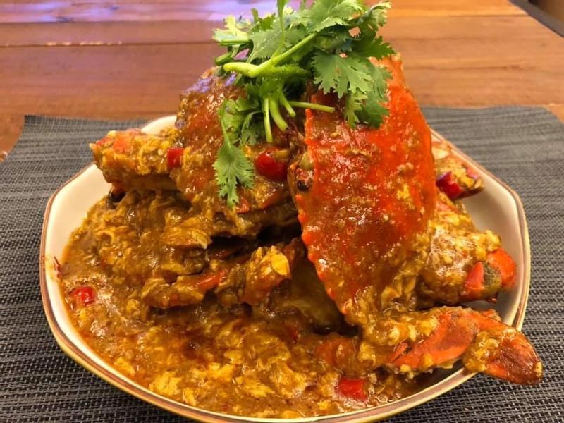 新加坡辣炒螃蟹