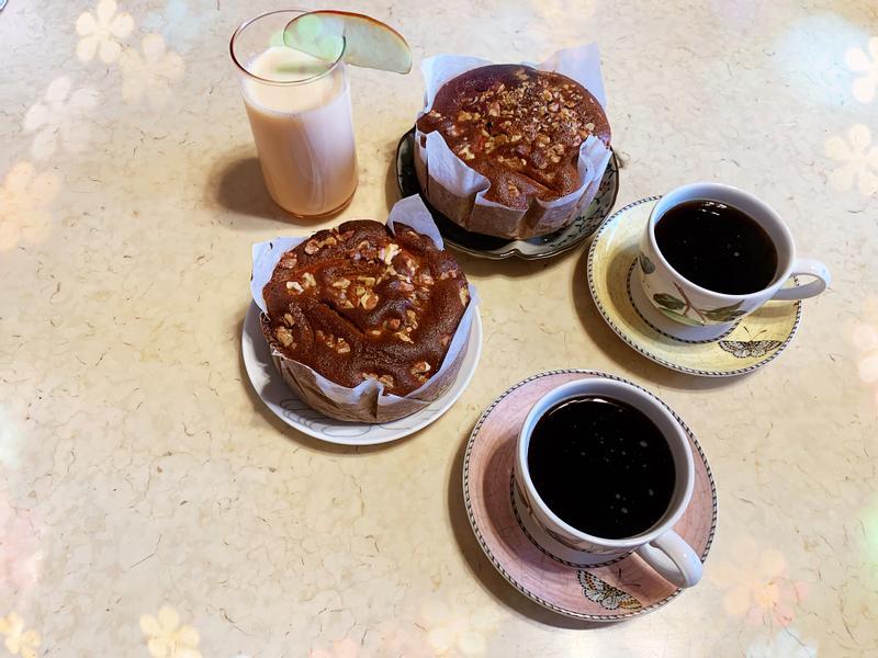 玫瑰桂圓核桃蛋糕