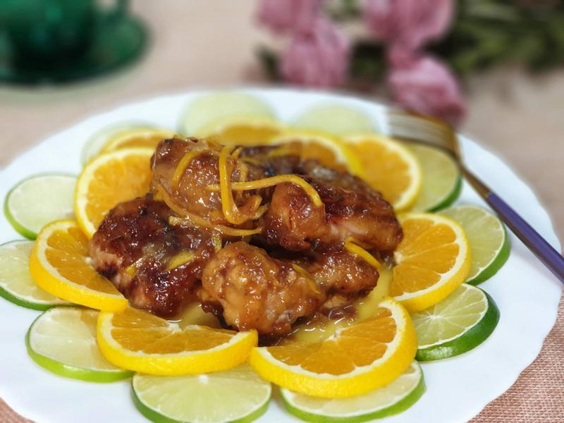 黃金橙汁子排
