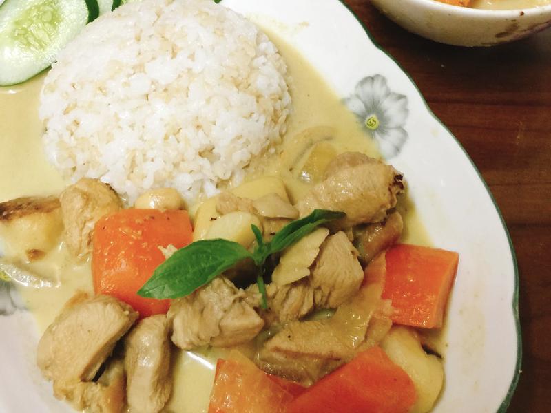泰式綠咖喱雞