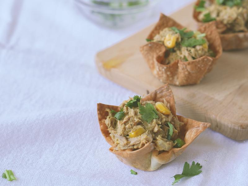 派對料理【鮪魚沙拉脆脆杯】