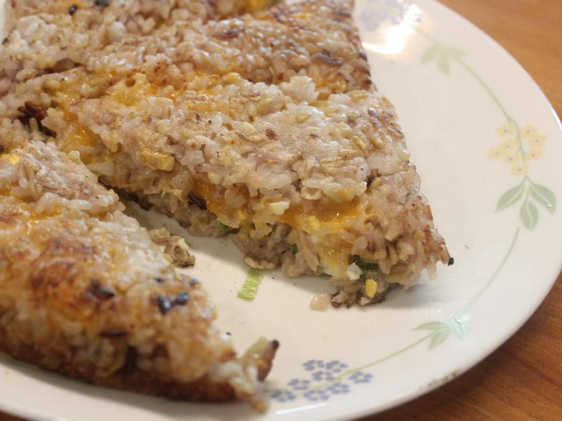 煎飯三明治:剩飯料理