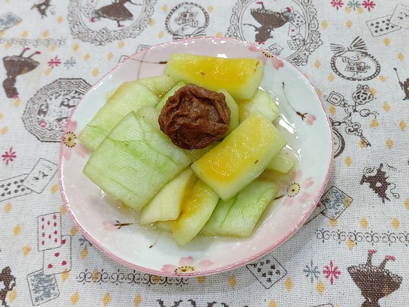 梅漬西瓜皮(超簡單,開胃)剩食料理