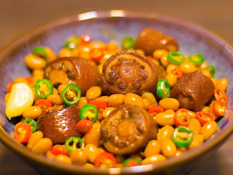 黃豆燒豬尾巴(補充膠原蛋白,美容養顏)