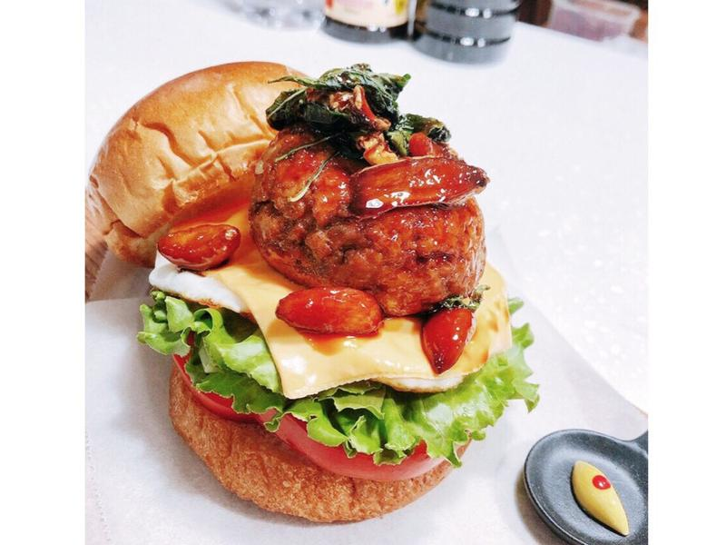 台式三杯漢堡排堡