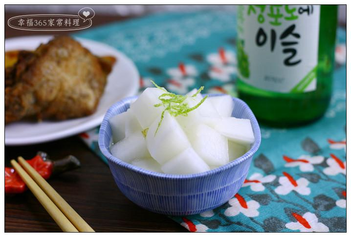 韓式醃蘿蔔(炸雞蘿蔔)