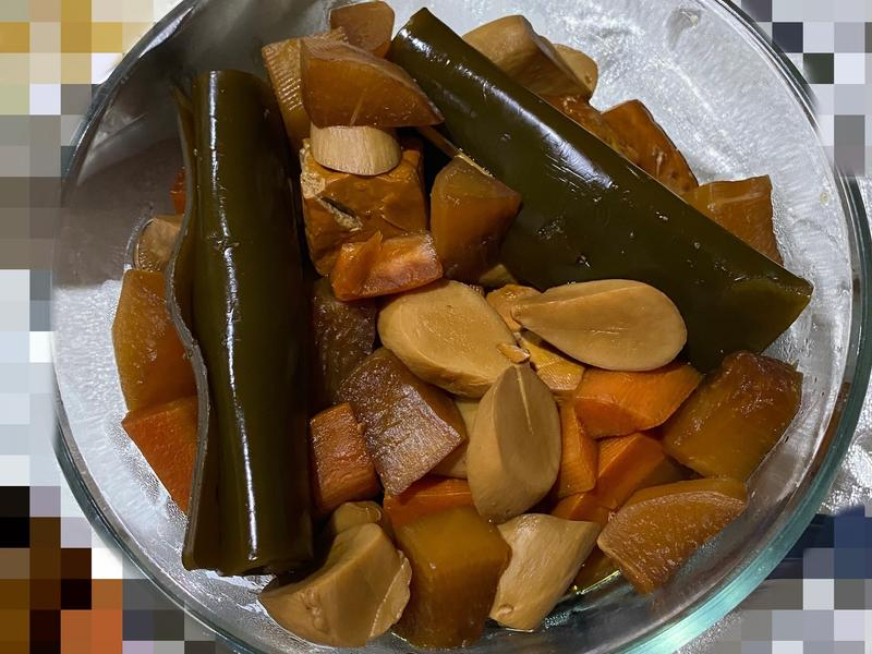 滷蔬菜料理