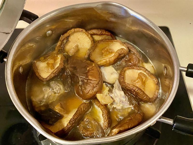 香菇干貝雞湯