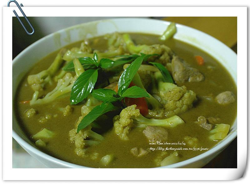 穀盛綠咖哩-『綠咖哩椰汁雞』