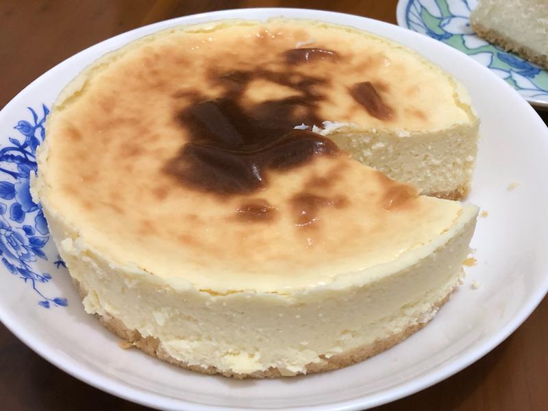 豆腐芝士蛋糕 (6吋模/水浴法)
