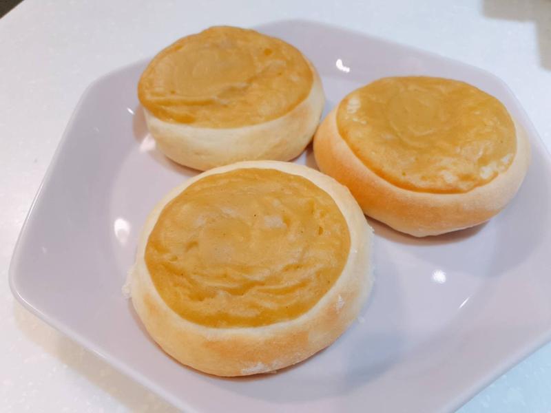 米漿卡士達麵包