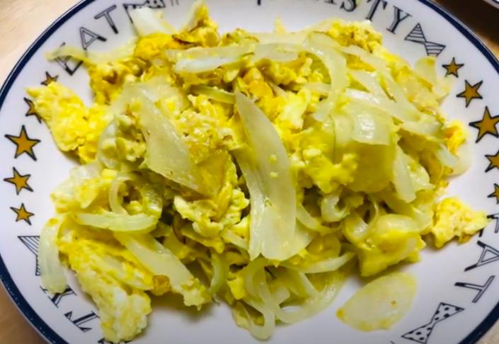 【家常菜】洋蔥炒蛋