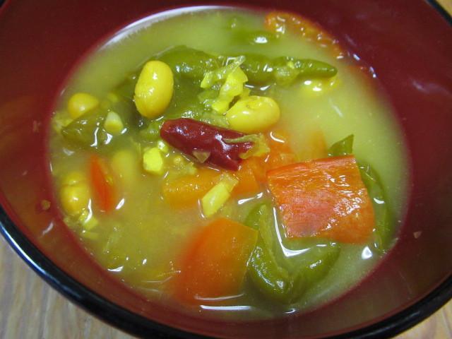 斯里蘭卡風味蔬菜湯