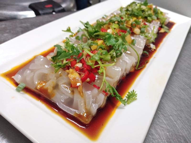 椒麻豬皮凍-下酒菜