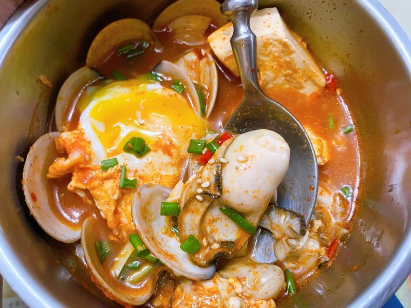 韓式海鮮嫩豆腐辣湯鍋