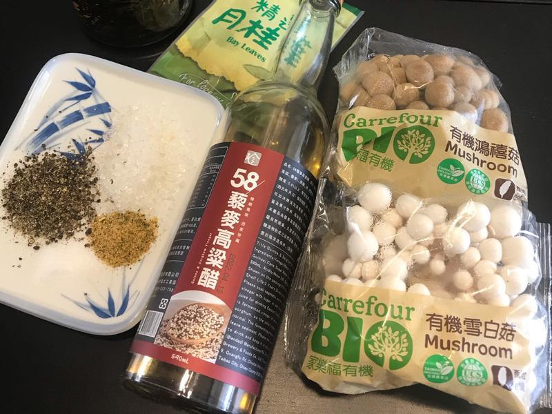 醋漬鴻禧雪白菇[58藜麥高粱醋]