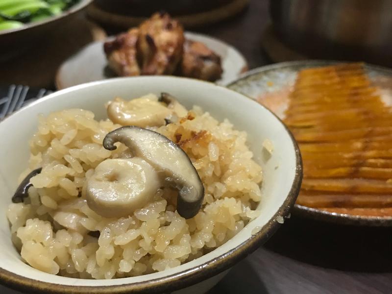 奶香松本茸炊飯