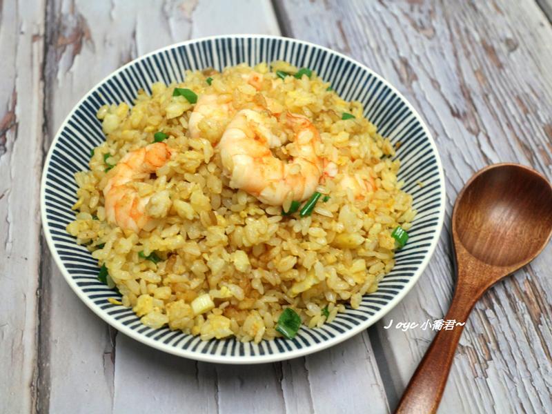 美味鮮蝦黃金炒飯