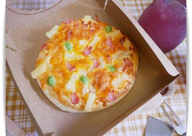 可愛的「夏威夷迷你披薩」口感軟Q好好吃