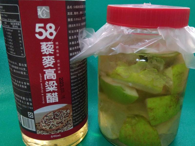 蘋果醋【58藜麥高粱醋】