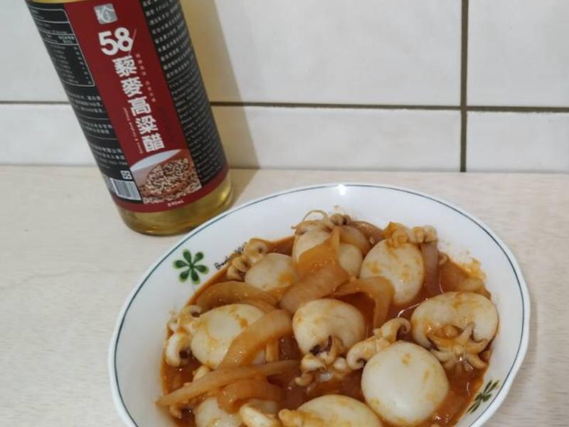 糖醋小花枝 [58藜麥高粱醋]