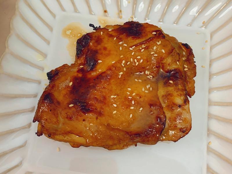 氣炸韓式燒烤雞腿排