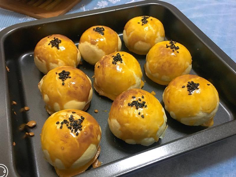 蛋黃酥(氣炸烤箱版)