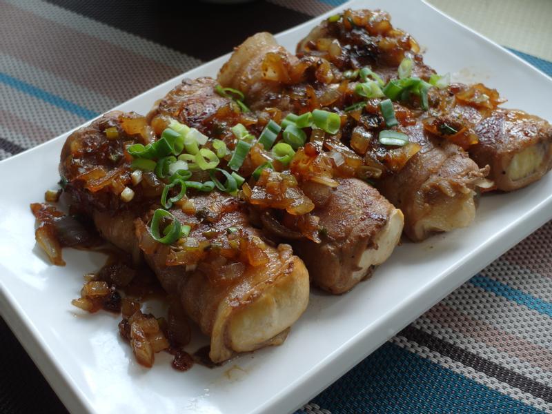 【家常菜】豬肉豆腐捲