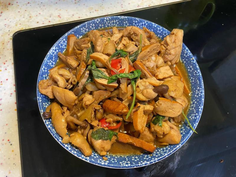 菇菇豆乾三杯雞🐔