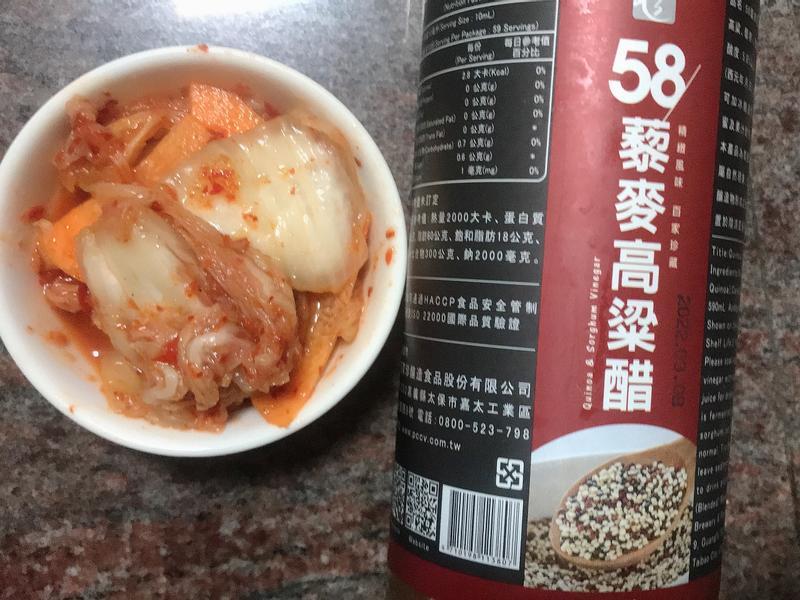 韓國泡菜[百家珍58藜麥高粱醋]