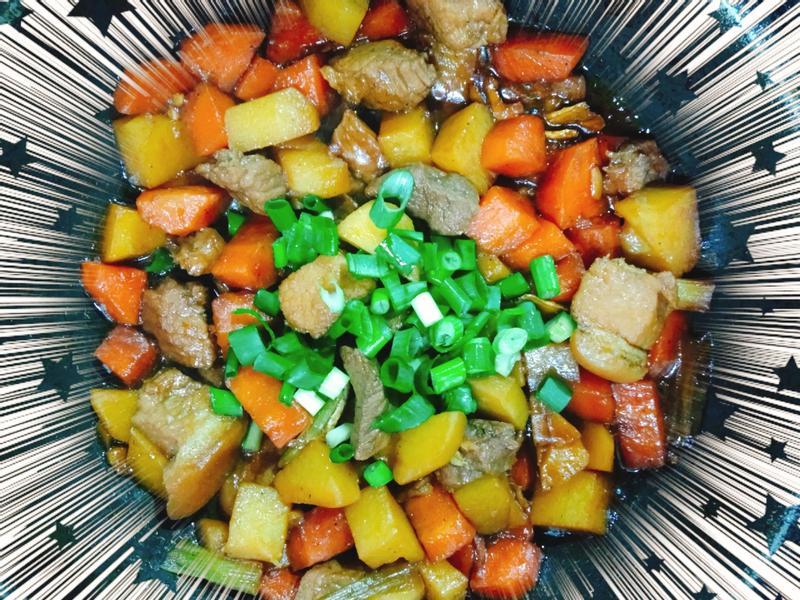 胡蘿蔔馬鈴薯燉肉