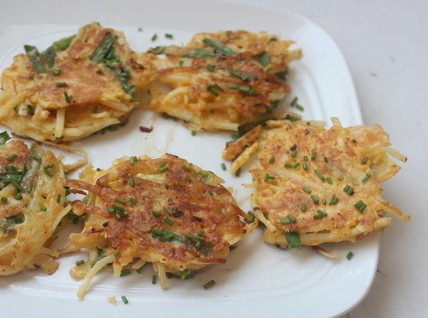 馬鈴薯泡菜煎餅