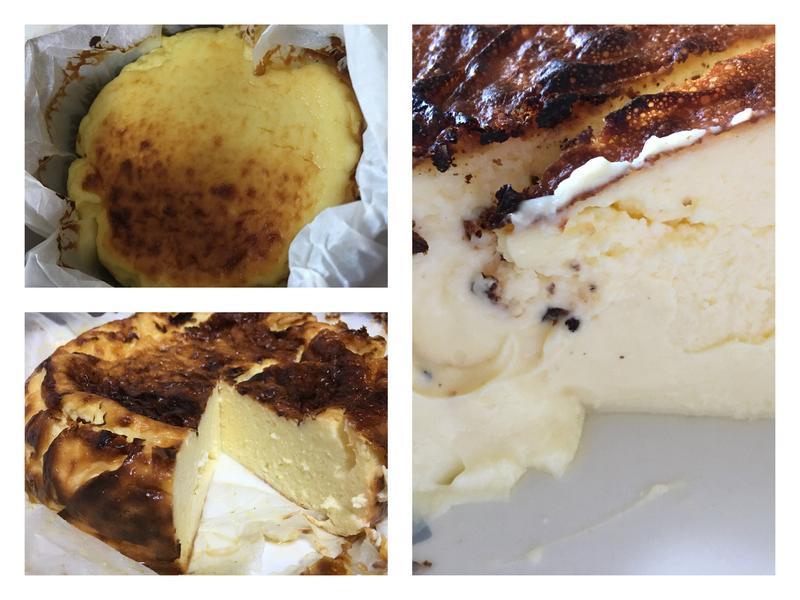 優格巴斯克乳酪蛋糕(內附鮮奶油版)