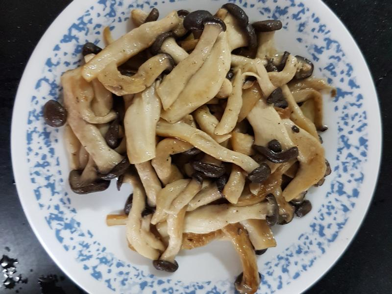 檸檬椒鹽黑蠔菇